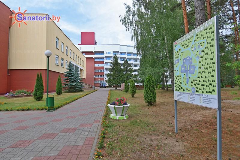 Санаторыі Беларусі - санаторый Белая Русь - Тэрыторыя