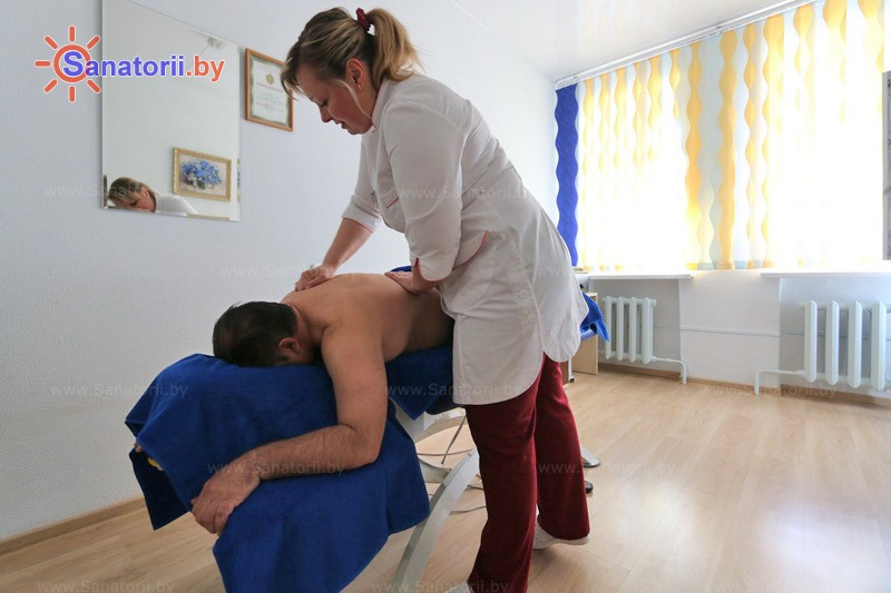 Санатории Белоруссии Беларуси - санаторий Белая Русь - Массаж ручной