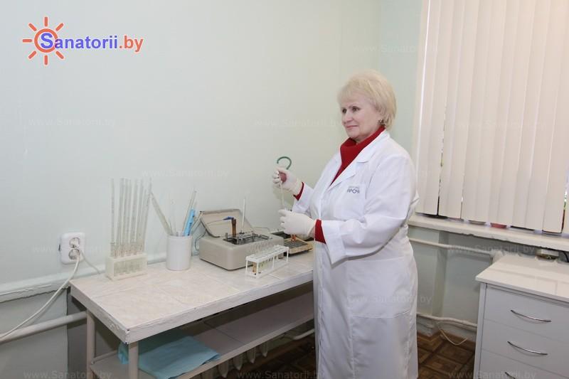 Санатории Белоруссии Беларуси - санаторий Нарочь - Клиническая лаборатория