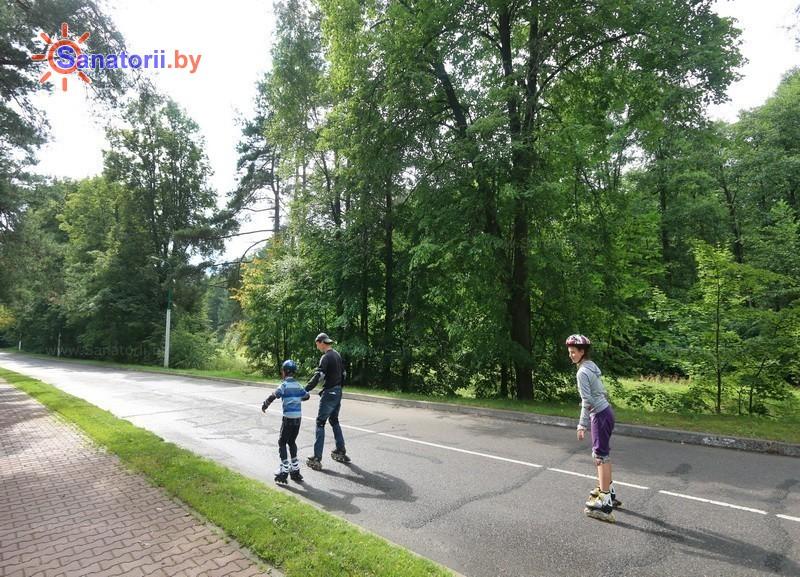 Health resort of Belarus - health resort Naroch - Territory