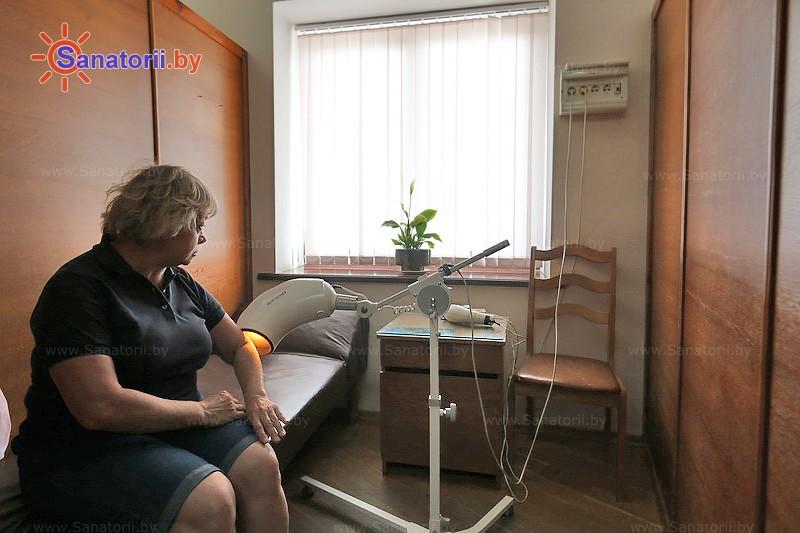Санатории Белоруссии Беларуси - санаторий Нарочь - Светолечение