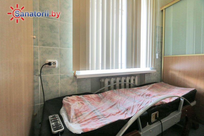 Санатории Белоруссии Беларуси - санаторий Нарочь - Массаж аппаратный