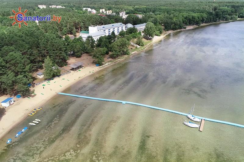 Санатории Белоруссии Беларуси - санаторий Нарочь - Водоём