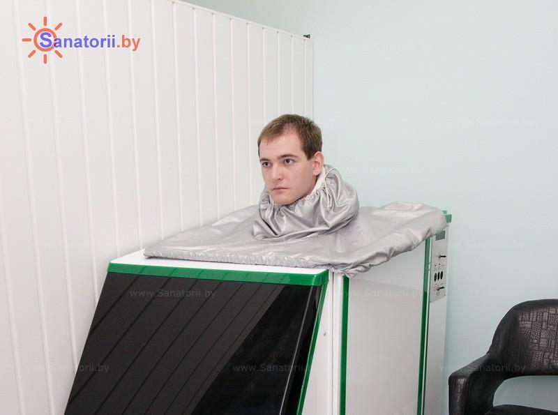 Санатории Белоруссии Беларуси - санаторий Поречье - Ванна сухая углекислая