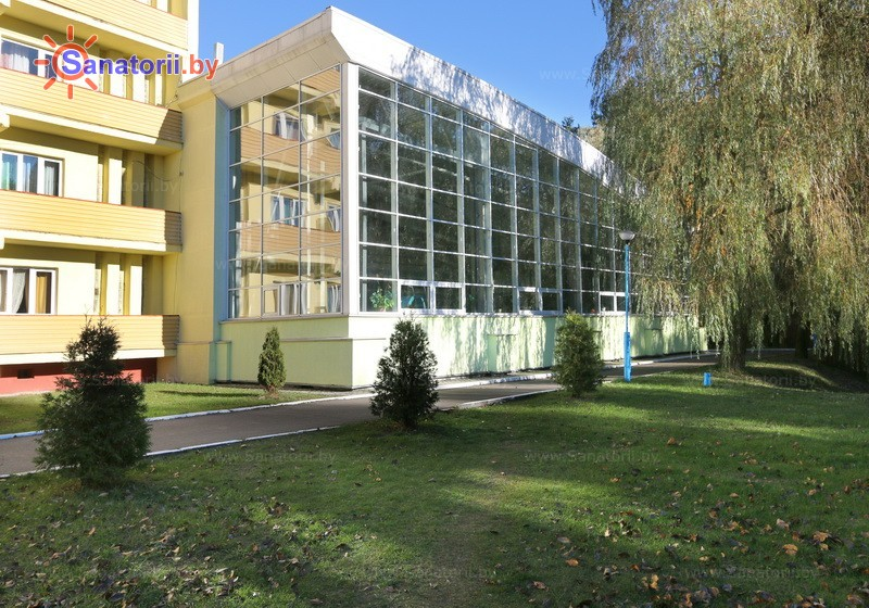 Санатории Белоруссии Беларуси - санаторий Поречье - бассейн