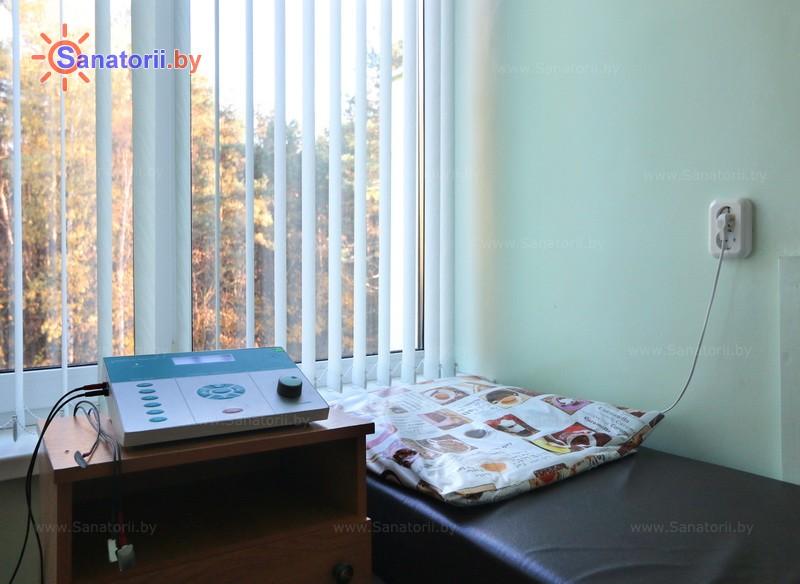 Санатории Белоруссии Беларуси - санаторий Поречье - Электролечение