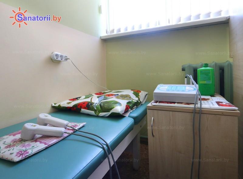 Санатории Белоруссии Беларуси - санаторий Поречье - Лазерная терапия