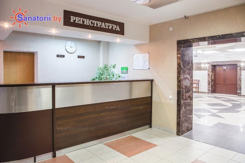 Санатории Белоруссии Беларуси - санаторий Поречье - Регистратура