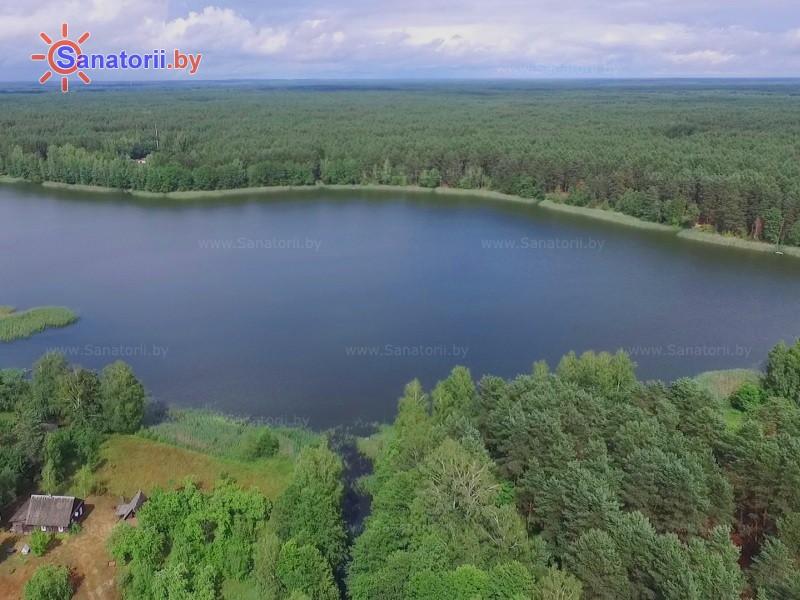 Санатории Белоруссии Беларуси - санаторий Поречье - Территория и природа