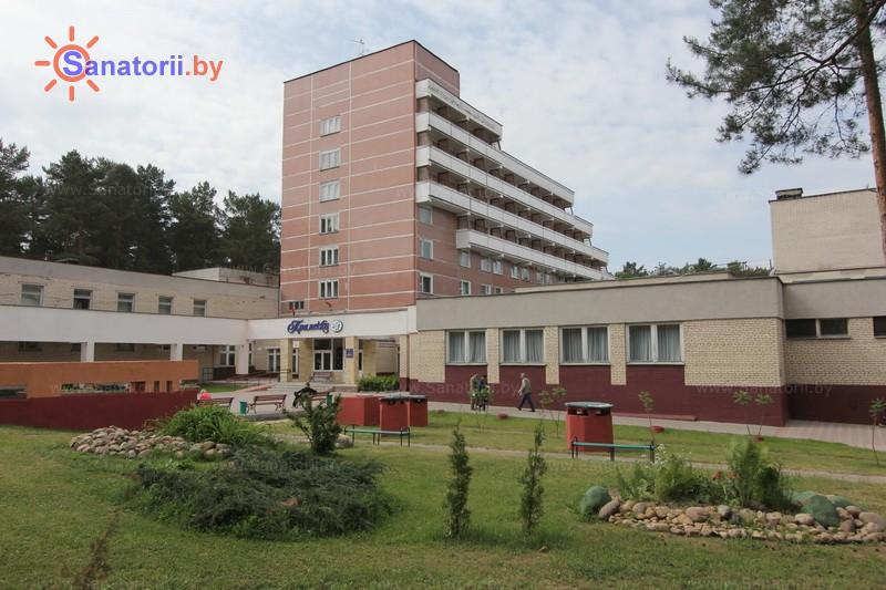 Санатории Белоруссии Беларуси - санаторий Пралеска - спальный корпус