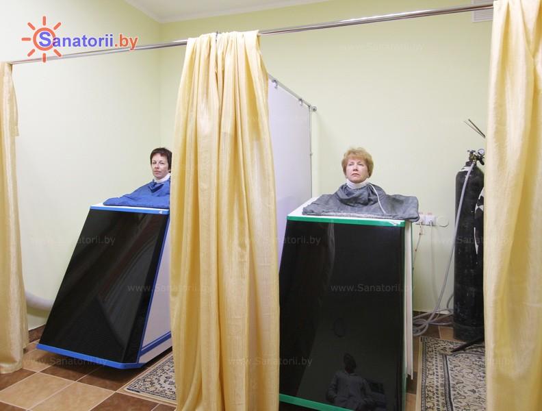 Санатории Белоруссии Беларуси - санаторий Пралеска - Ванна сухая углекислая