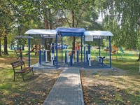health resort Pridneprovsky - Outdoor gym