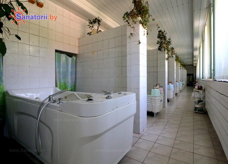Санатории Белоруссии Беларуси - санаторий Приднепровский - Ванны жемчужные