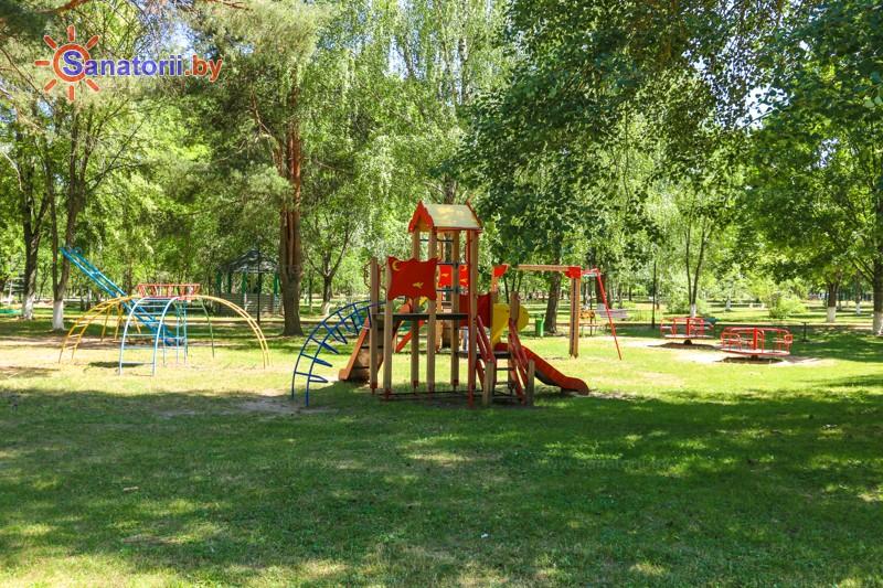Санатории Белоруссии Беларуси - санаторий Приднепровский - Детская площадка