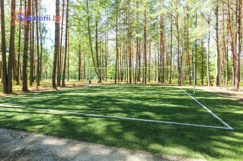 Санатории Белоруссии Беларуси - санаторий Приднепровский - Спортплощадка