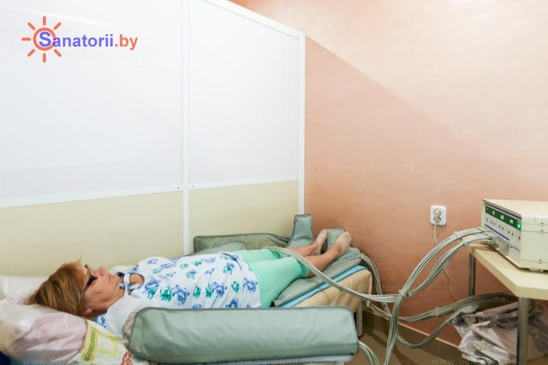 Санатории Белоруссии Беларуси - санаторий Приднепровский - Компрессионная терапия