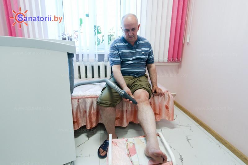 Санатории Белоруссии Беларуси - санаторий Приднепровский - Криотерапия