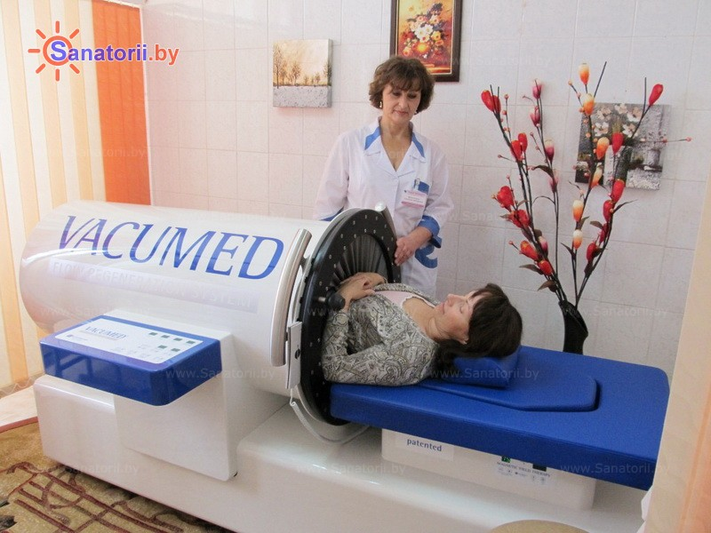 Санатории Белоруссии Беларуси - санаторий Приднепровский - Вакуум-терапия