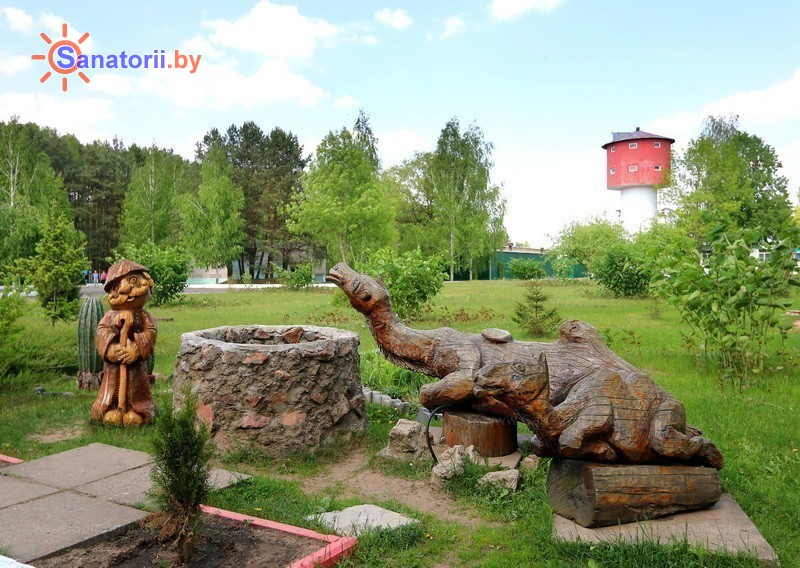 Санатории Белоруссии Беларуси - санаторий Приднепровский - Территория и природа