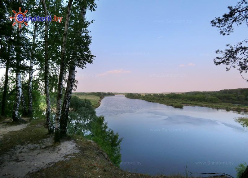 Санатории Белоруссии Беларуси - санаторий Приднепровский - Водоём