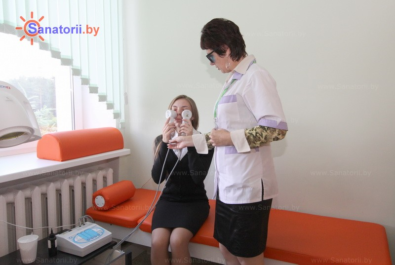 Санатории Белоруссии Беларуси - санаторий Радон - Лазерная терапия