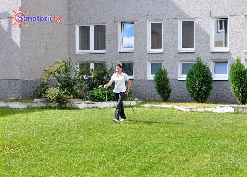 Санатории Белоруссии Беларуси - санаторий Радон - Ходьба скандинавская