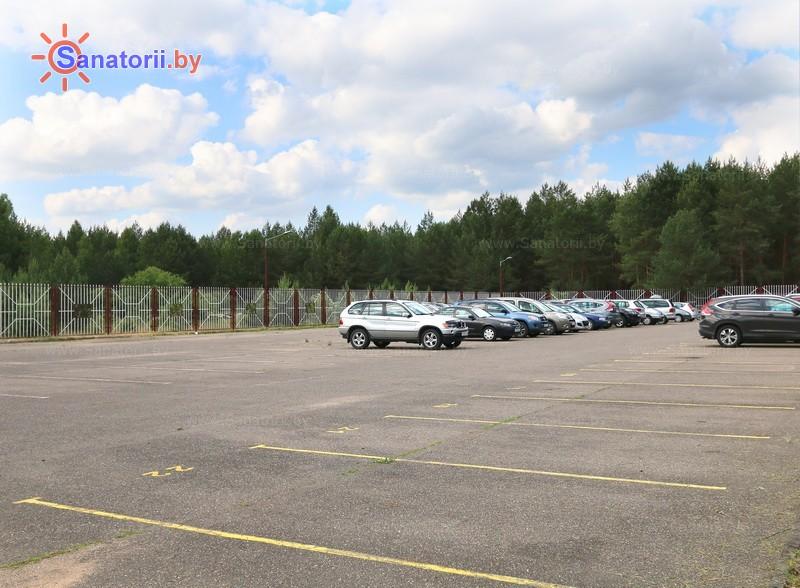 Санатории Белоруссии Беларуси - санаторий Радон - Автостоянка
