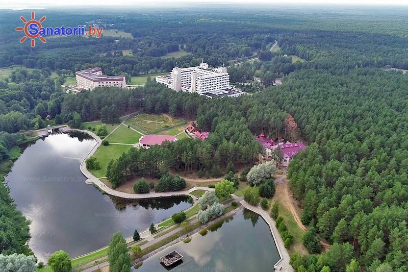 Санатории Белоруссии Беларуси - санаторий Радон - Территория и природа