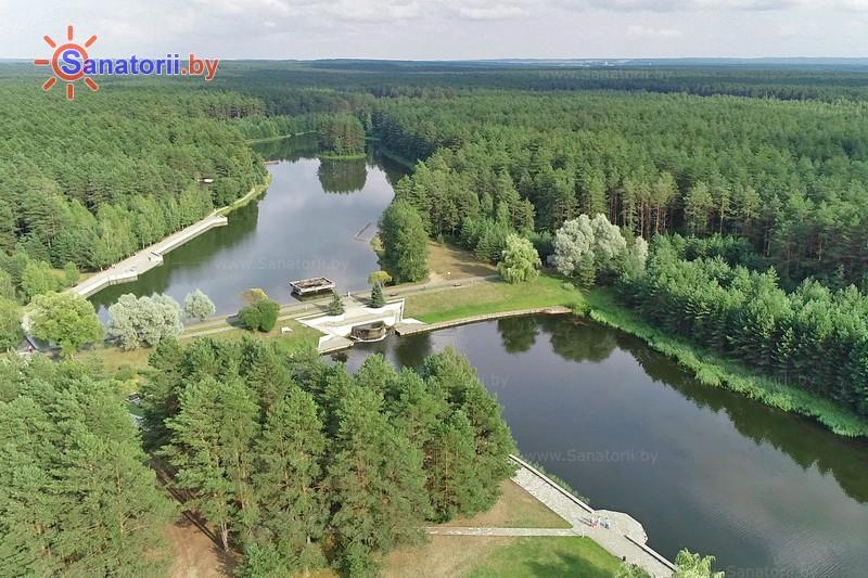 Санатории Белоруссии Беларуси - санаторий Радон - Водоём
