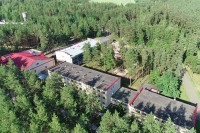 санатория Рассвет - Любань - Территория и природа