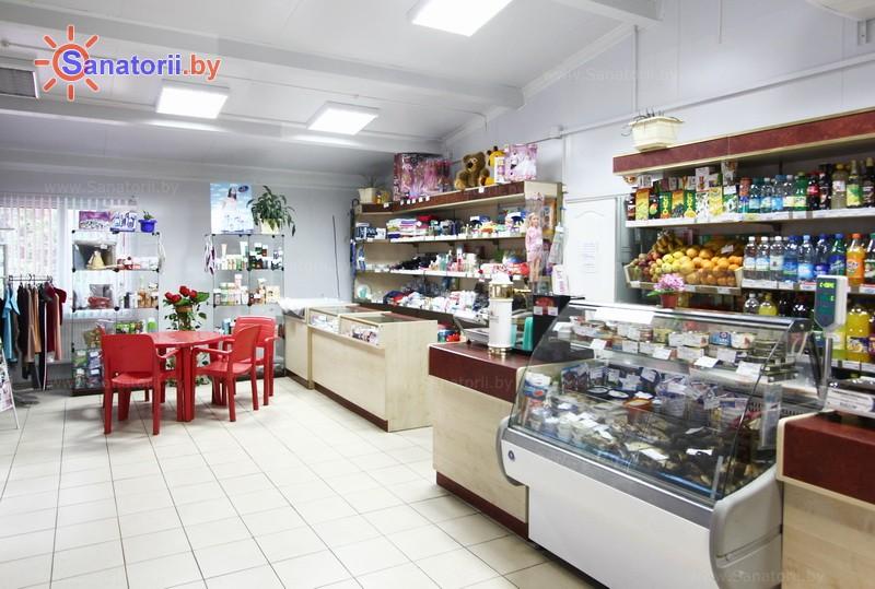 Санатории Белоруссии Беларуси - санаторий Рассвет - Любань - Магазин