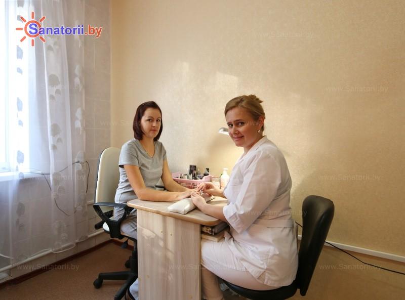Санатории Белоруссии Беларуси - санаторий Рассвет - Любань - Парикмахерская