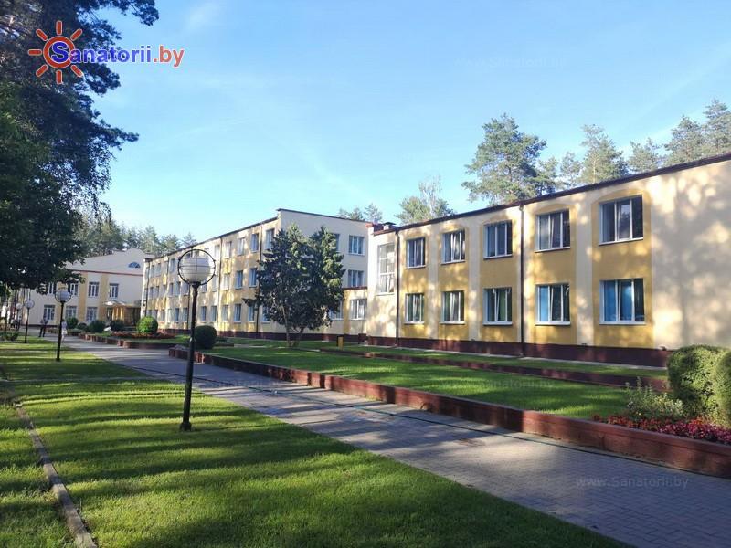 Санатории Белоруссии Беларуси - санаторий Рассвет - Любань - Территория и природа