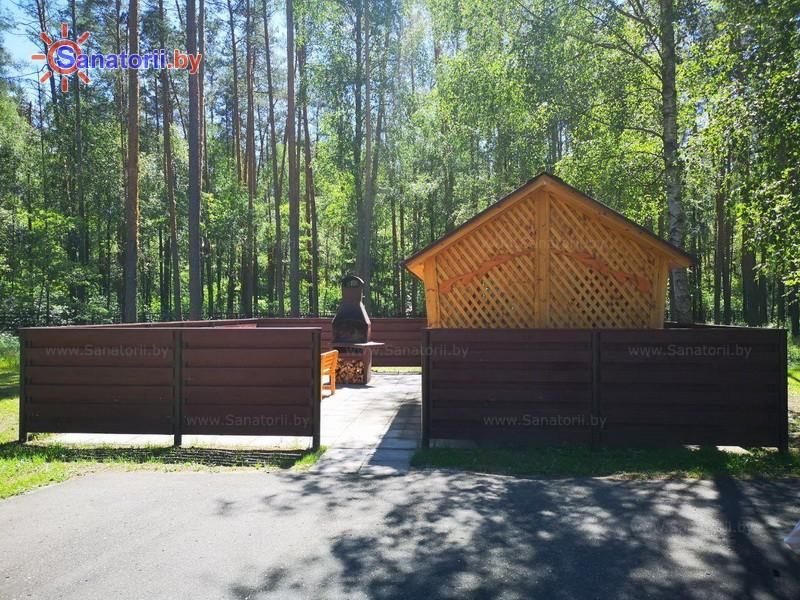 Санатории Белоруссии Беларуси - санаторий Рассвет - Любань - Площадка для шашлыков