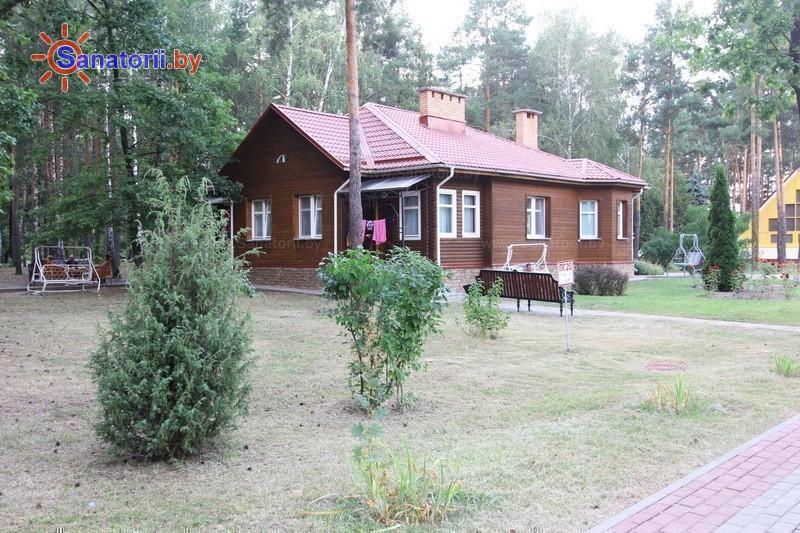 Санатории Белоруссии Беларуси - санаторий Солнечный берег - коттедж
