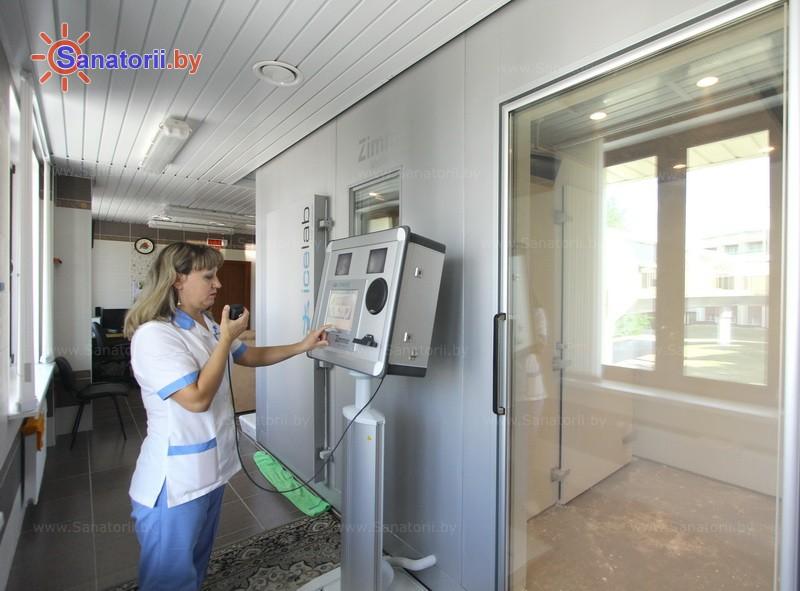 Санатории Белоруссии Беларуси - санаторий Солнечный берег - Криотерапия