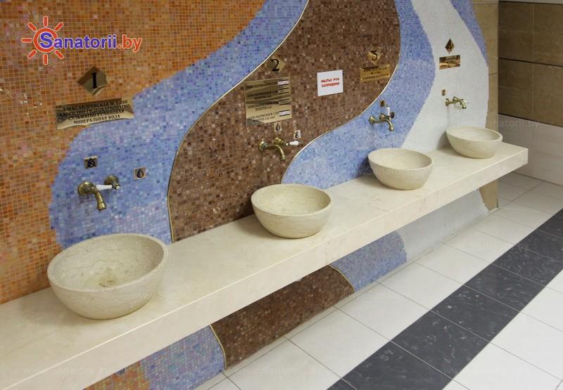 Санатории Белоруссии Беларуси - санаторий Солнечный берег - Бювет минеральной воды