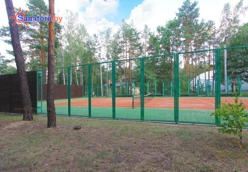 Санатории Белоруссии Беларуси - санаторий Солнечный берег - Спортплощадка