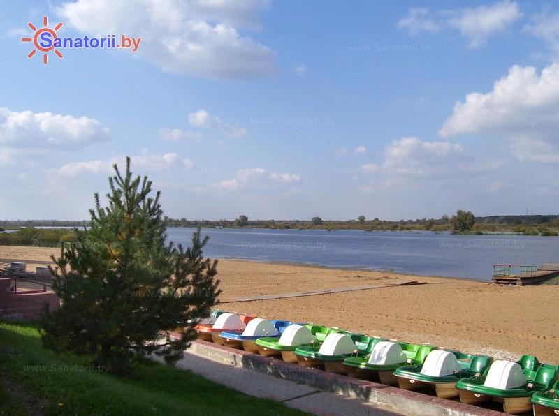 Санатории Белоруссии Беларуси - санаторий Солнечный берег - Прокат лодок