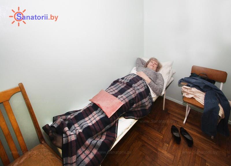 Санатории Белоруссии Беларуси - санаторий Сосновый бор - Озокерито-парафинолечение