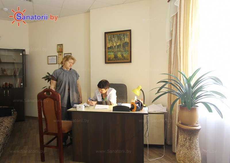 Санатории Белоруссии Беларуси - санаторий Сосновый бор - Кабинеты профильных специалистов