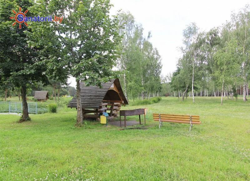 Санатории Белоруссии Беларуси - санаторий Сосновый бор - Площадка для шашлыков