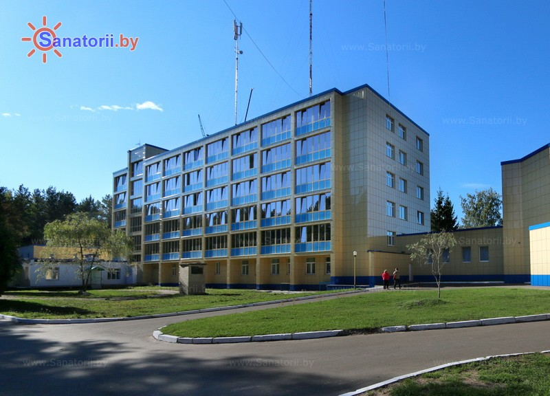 Санатории Белоруссии Беларуси - санаторий Сосновый бор - главный корпус