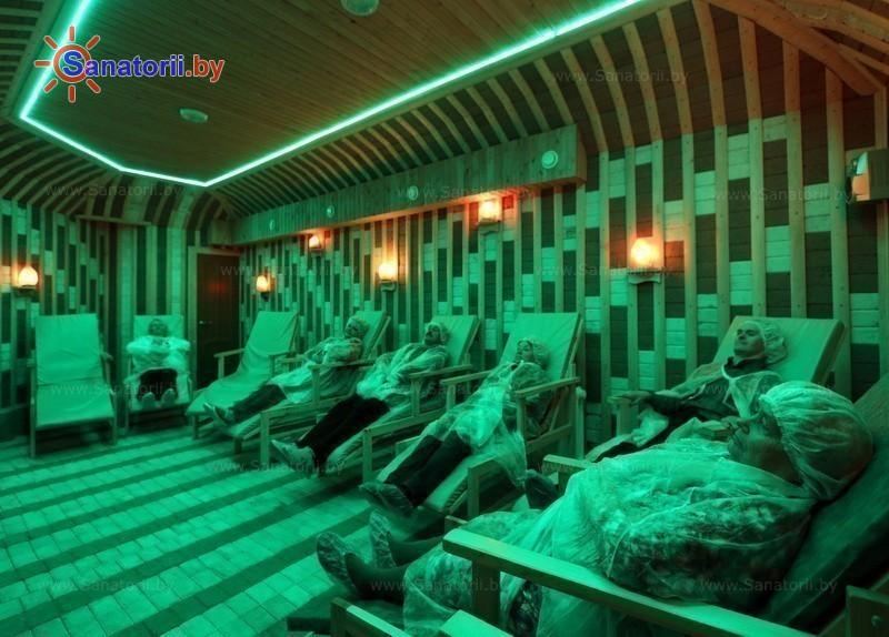 Санатории Белоруссии Беларуси - санаторий Сосновый бор - Спелеотерапия