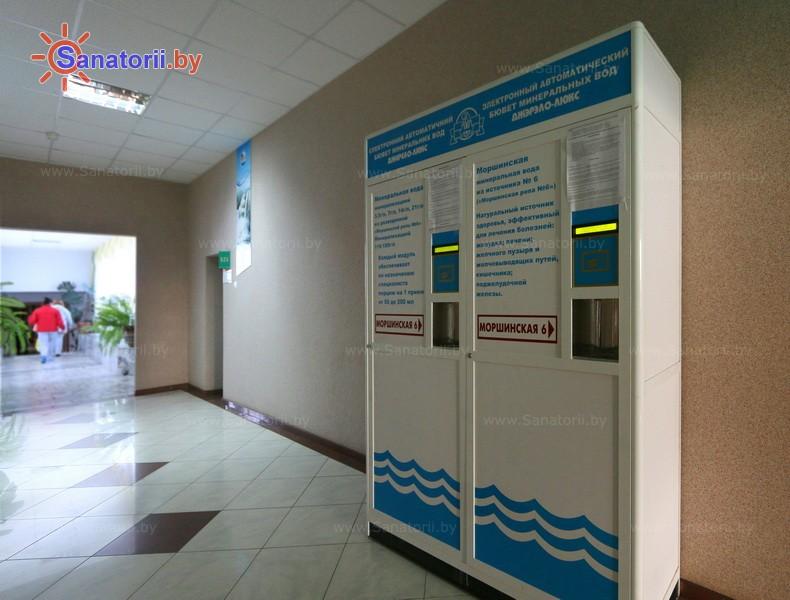 Санатории Белоруссии Беларуси - санаторий Сосновый бор - Бювет минеральной воды
