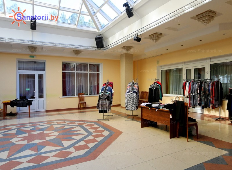 Санатории Белоруссии Беларуси - санаторий Сосновый бор - Магазин