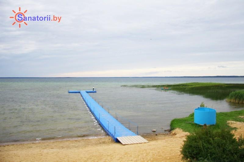 Санаторыі Беларусі - санаторый Сосны - Пляж