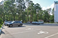 health resort Zolotie peski - Parking