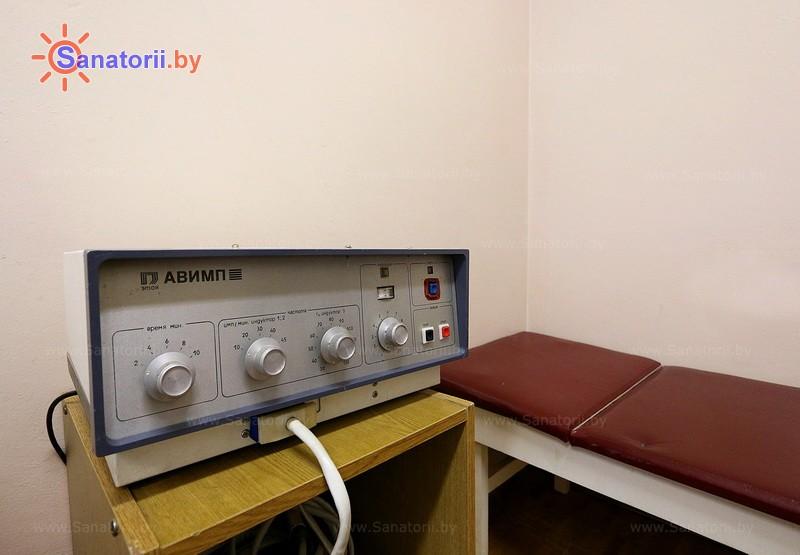 Санатории Белоруссии Беларуси - оздоровительный комплекс Белино - Магнитотерапия