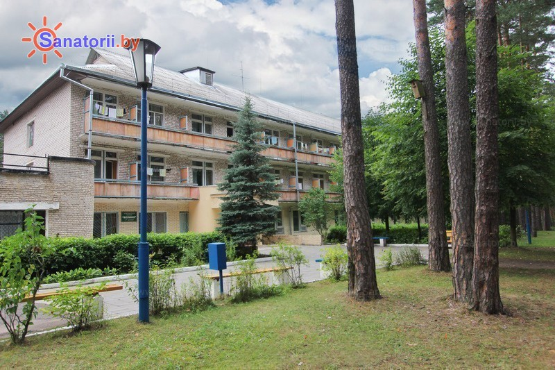 Санатории Белоруссии Беларуси - оздоровительный комплекс Белино - основной корпус